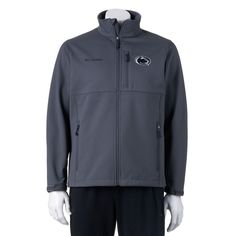 Columbia Penn State Nittany Lions Ascender Softshell Jacket - Men, Size: Large, Dark Grey