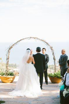 Malibu Wedding at Rancho Del Cielo  Read more - http://www.stylemepretty.com/2014/01/10/malibu-wedding-at-rancho-del-cielo/