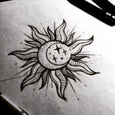 Star, moon, & sun combo
