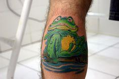 Frog Tattoos, Design