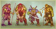 The New Ninja Turtles - TMNT by EddieHolly.deviantart.com on @DeviantArt