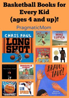March Madness: Basketball Books for Every Kid (ages 4 and up)!