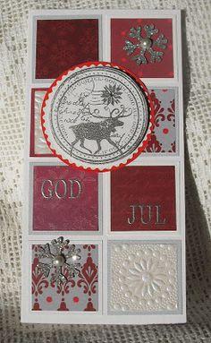 Moski: reindeer card
