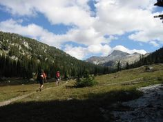 Backpacking the Lostine River Valley, Wallowa Mtns (OR)