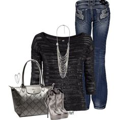 """""""metallic"""" by fluffof5 on Polyvore"""