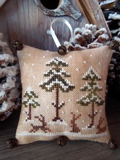 The Little Stitcher: The Snowy Forest