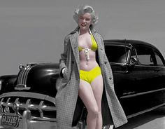 """Check out new work on my @Behance portfolio: """"Marilyn Monroe colorized."""" http://be.net/gallery/41428799/Marilyn-Monroe-colorized"""