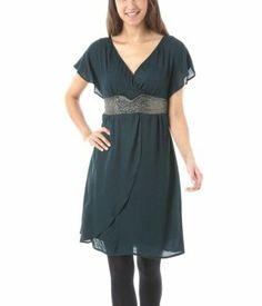 Beads-embellished dress