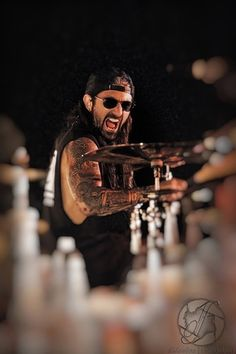 Mike Portnoy - met Portnoy in SA, TX before the Dream Theater/Iron Maiden show. Great day!!