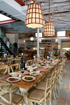 Rosemary's restaurant in Greenwich Village, NYC - farm to table