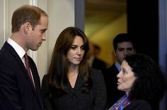 Prince William and Catherine, The Duchess of Cambridge, visit the French Embassy in London