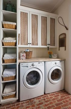50 Beautiful and Functional Laundry Room Design Ideas Laundry room decor Small laundry room ideas Laundry room makeover Laundry room cabinets Laundry room shelves Laundry closet ideas Pedestals Stairs Shape Renters Boiler Room Makeover, Chicken Wire Cabinets, Room Design, Small Laundry Rooms, Laundry Mud Room, Room Furnishing, Room Remodeling, Luxury Interior Design, Room Storage Diy