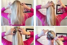 Poofy Ponytail Tutorial
