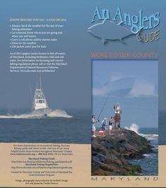 An Angler's Guide Worcester County MD 2017 [pdf] Beach Tips, Beach Hacks, Maryland Beaches, Ocean City Md, Fishing Adventure, Worcester, Beach Day, The Locals, Road Trip
