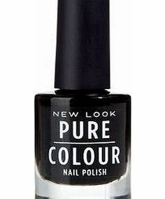 New Look Pure Colour Black Nail Polish 3260101 - Black tones- Specially designed maxi brush for full coverage and easy application- Unique one coat formula- Fast drying and long lasting- Shimmer finishPure Colour beauty products - We cannot refund http://www.comparestoreprices.co.uk/nail-products/new-look-pure-colour-black-nail-polish-3260101.asp