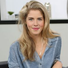 Emily Bett Rickards (born July 24, 1991) is a Canadian actress, best known for portraying Felicity Smoak in The CW television series Arrow. Description from pixgood.com. I searched for this on bing.com/images