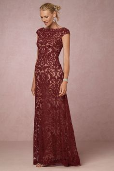 Party dresses for fall and winter weddings and events. Special occasion dresses from BHLDN to wear to fall and winter parties, weddings, and black tie events for 2016.