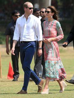 Kate Middleton et du Prince William en Inde 2016