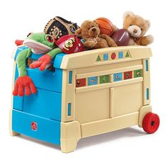 Step2 Lift And Roll Toy Box $49.99