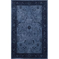 You'll love the Attleborough Blue Area Rug at Wayfair - Great Deals on all Rugs  products with Free Shipping on most stuff, even the big stuff.