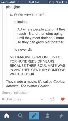 Captain America: the winter soldier | AU