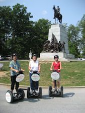I need the courage to take a Segway Tour! Gettysburg might be the starting point.