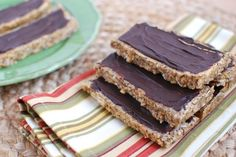 Homemade No-Bake Peanut Butter Protein Bars