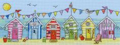 Bothy Threads - Beach Hut Fun -