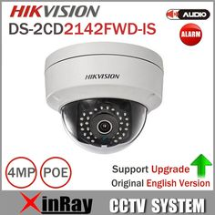 compare prices hikvision ds 2cd2142fwd is 4mp poe ip camera daynight infrared 3d dnr 3 axis adjustment #poe #ip #camera