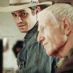 Justified s01e12 - Fathers and SonsARLO - Two kentuckys, Roy.ROY - You serve?ARLO - My son's been fighting wars since the day he was born.