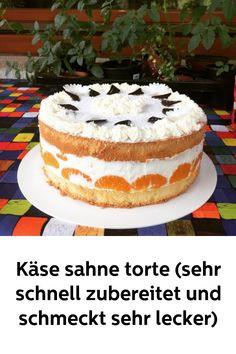 Food Diary, Vanilla Cake, Food And Drink, Michaela, Desserts, Germany, Cakes, Kaffee, Tailgate Desserts