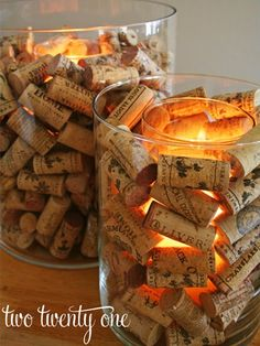 Cork Candle Holder Wine Cork Candle Holder - totally have the corks to do this. :)Wine Cork Candle Holder - totally have the corks to do this. Wine Cork Projects, Wine Cork Crafts, Wine Cork Art, Wine Cork Candle, Wine Corks, Wine Bottles, Wine Candles, Glass Candle, Bottle Candles