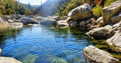 Are 11 Northern California Swimming Holes That Will Make Your Summer South Fork of the Yuba River, Auburn California Camping, Auburn California, California Coast, Northern California Travel, Waterfalls In California, Bodega Bay California, Placerville California, Vacaville California, California Living