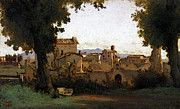 "New artwork for sale! - "" Corot View In The Farnese Gardens by Jean Baptiste Camille Corot "" - http://ift.tt/2pz1ymX"