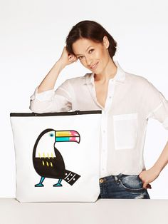 Shopper bag Toucan - GOSHICO