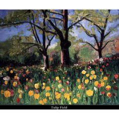 Tulip Field by Amanda Dunbar