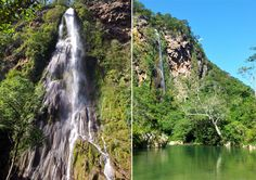 Cachoeira Boca da Onça (Bodoquena - MS) Com seus imponentes 156 metros de altura, a cachoeira Boca da Onça é a mais alta do estado.