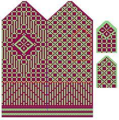 Ravelry: Project Gallery for Fenced Diamond Mittens pattern by Liz Stasiak Knitted Mittens Pattern, Knit Mittens, Mitten Gloves, Knitting Socks, Hand Knitting, Knitting Charts, Knitting Stitches, Knitting Patterns, Crochet Patterns