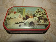 Vintage Collectable Daintee English Candies TIN BOX 1950'S | eBay