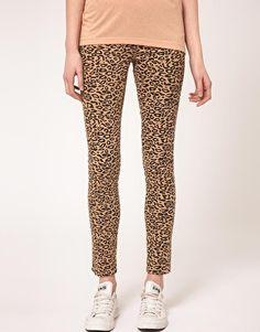 leopard pants!