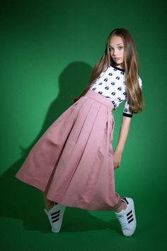 """Maddie Ziegler modeled for """"Elle Magazine"""" [2014]"""