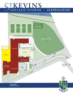 St Kevin's College – Glendalough Campus Map