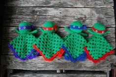 Teenage mutant ninja turtles Lovey Doll by KrafternoonGifts2 on Etsy https://www.etsy.com/listing/232881884/teenage-mutant-ninja-turtles-lovey-doll