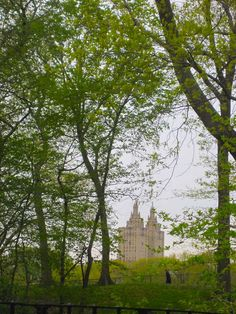 The Beresford,(viewed from inside Central Park) at 211 Central Park West, between 81st and 82nd Streets, is a luxury, 23-floor apartment building in New York City. Designed by the architect Emery Roth