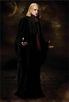 Caius Volturi ~ Though Caius had no psychic gift, Aro was drawn to his ambition and passionate capacity to hate; which was a great potential for manipulation in what could be both a weakness and a strength.  He is one of the 3 leaders of the Volturi coven