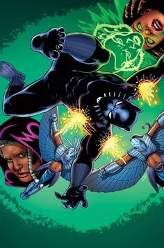 Black Panther #5 (2016) Story Thus Far Variant Cover by John Cassaday
