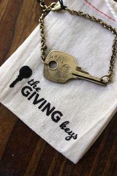 The Giving Keys Bracelet | Just Peachy Blog