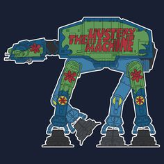 The Mystery Machine AT-AT
