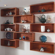 3-D Shelves Enliven Any Room