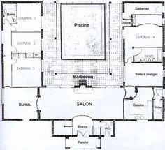 plan de maison moderne gratuit toit plat 20 pin plan de maison en u